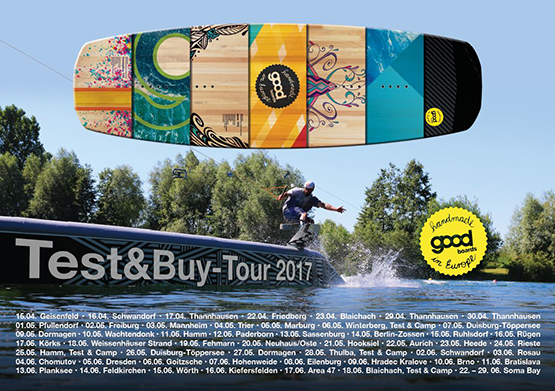 Goodboard Testtage Flyer 2017 - Wake and Beach Halbendorf